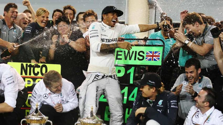 Lewis Hamilton beim GP von Bahrain