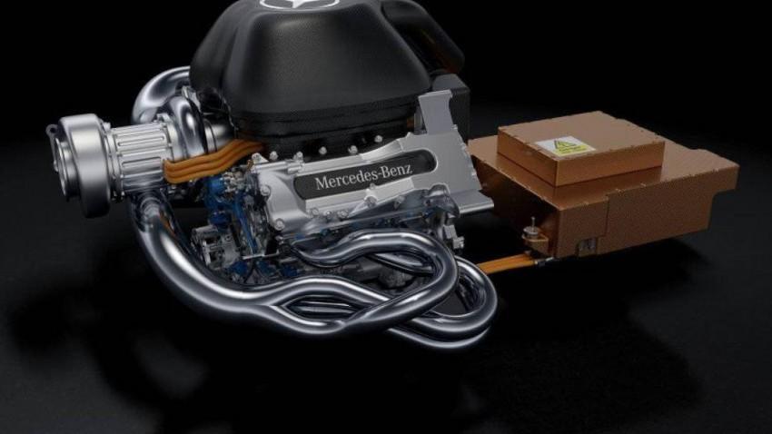 mercedes f1 motor