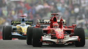 Michael Schumacher 2006 beim GP in China
