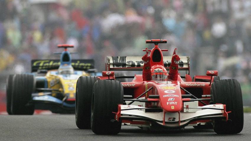 Michael Schumacher 2006 beim GP in China