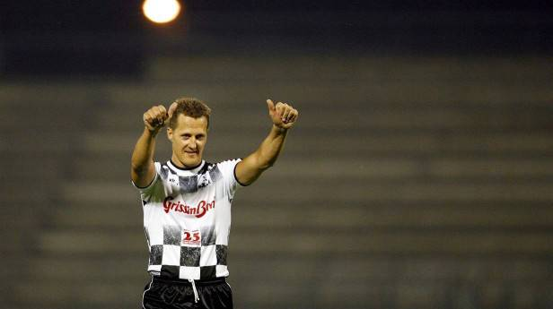 Die ersten guten Nachrichten von Michael Schumacher seit seinem Unfall am 29. Dezember 2013 (c) Kerim Okten / EPA / picturedesk.com