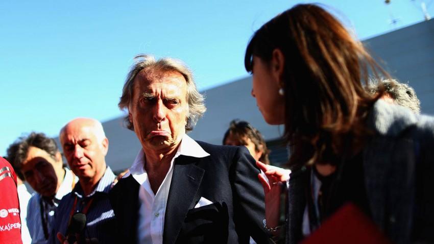 Montezemolo beim GP von Bahrain 2014