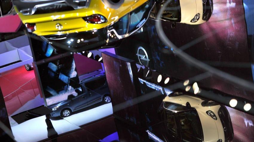 Opel auf dem Genfer Autosalon 2014