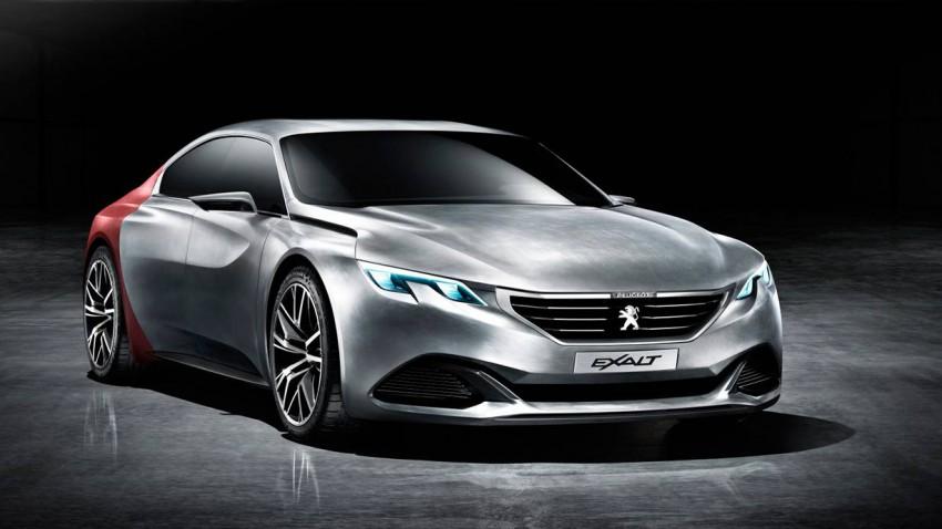 peugeot exalt concept 2014 peking motorshow vorne seite