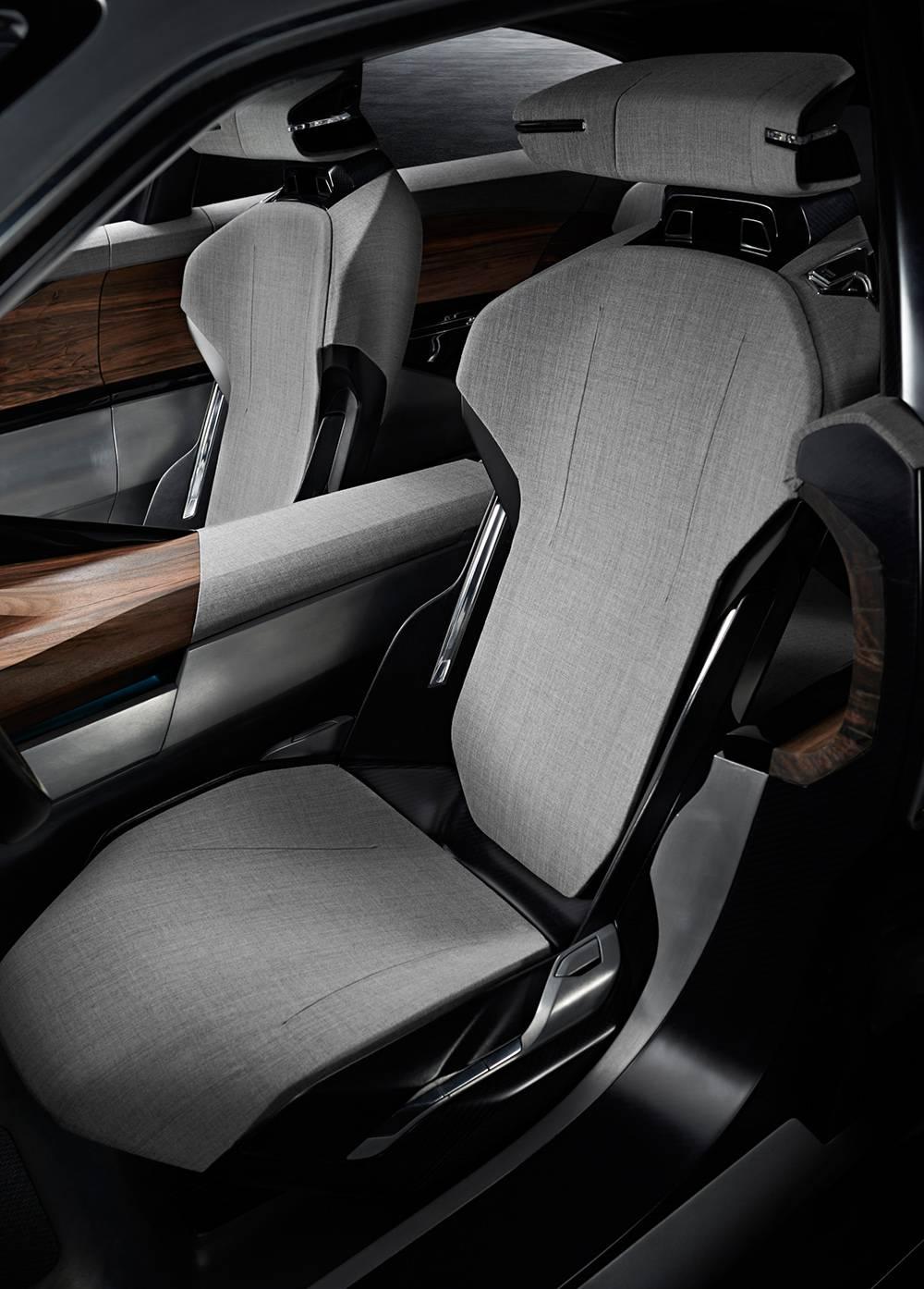 peugeot exalt concept 2014 peking motorshow sitze