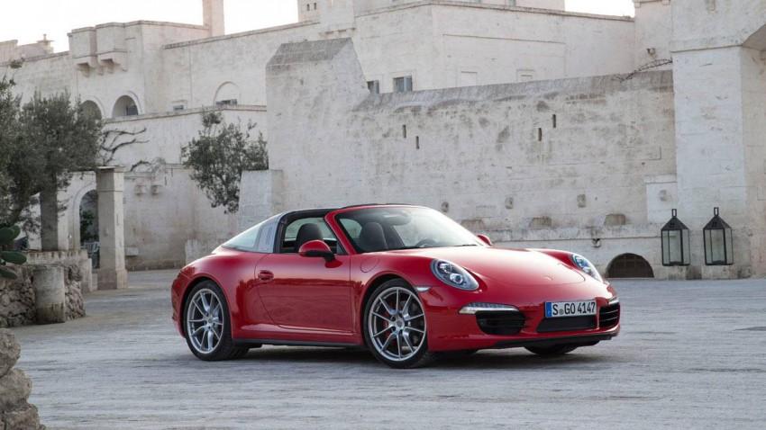 Der Porsche 911 Targa 4S