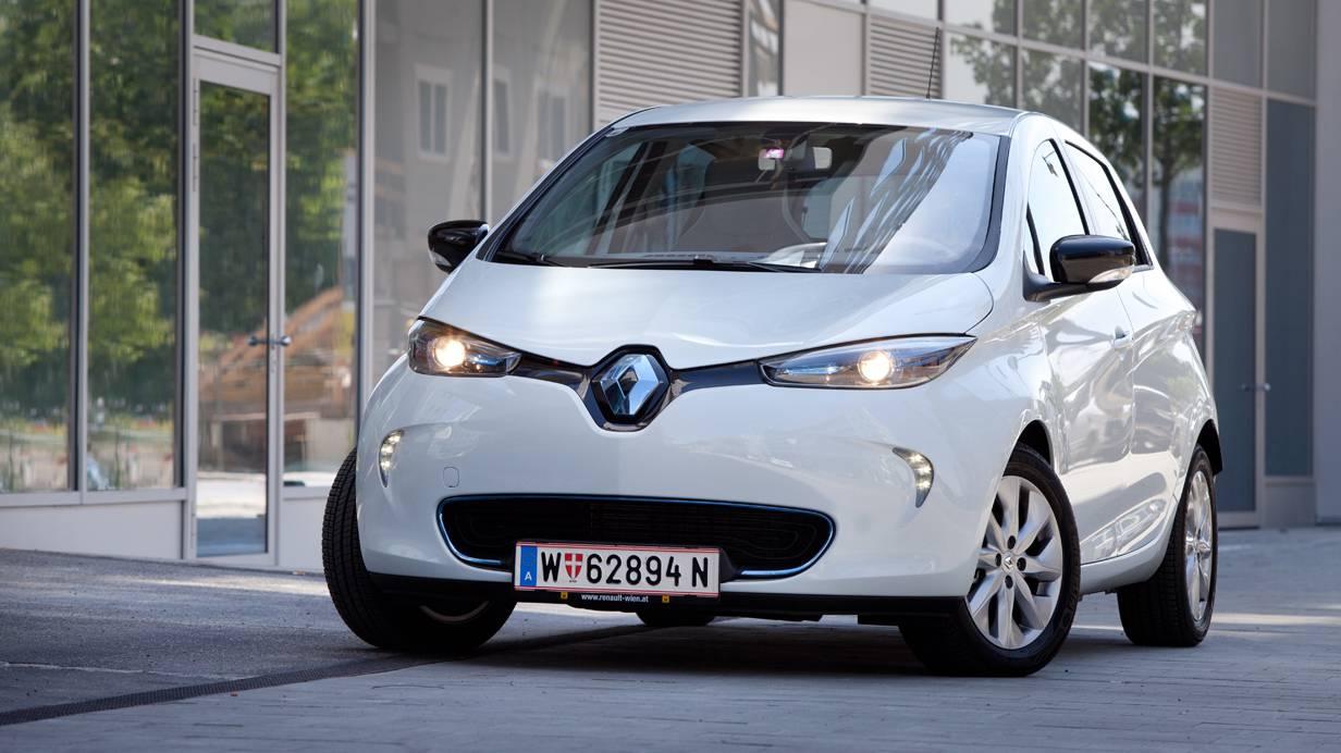 Renault Zoe Treffen Graz 2014 Kaindorf Elektromobilität Elektroauto