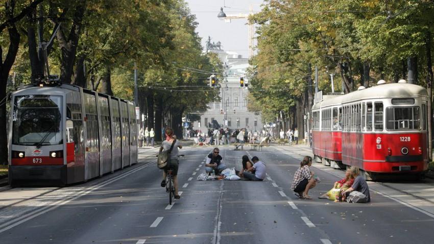 Ring frei für Fahrradfahrer. Foto: Reuters/Heinz-Peter Bader