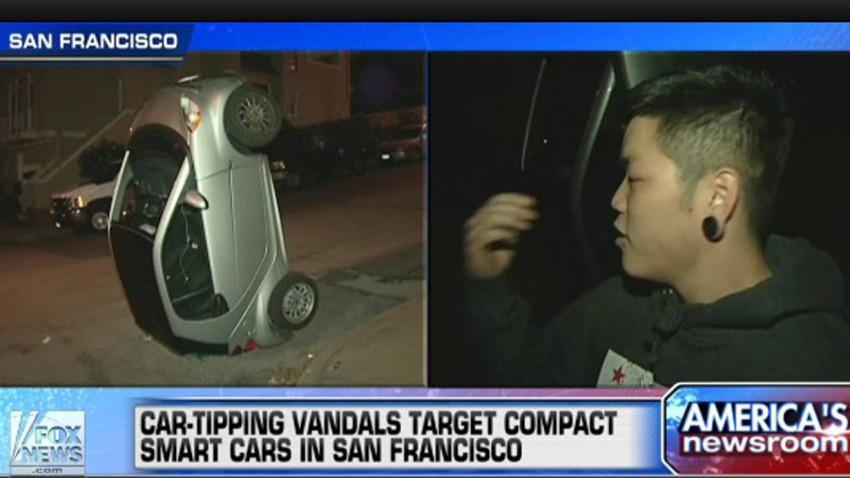 San Francisco Vier Smart umgeworfen