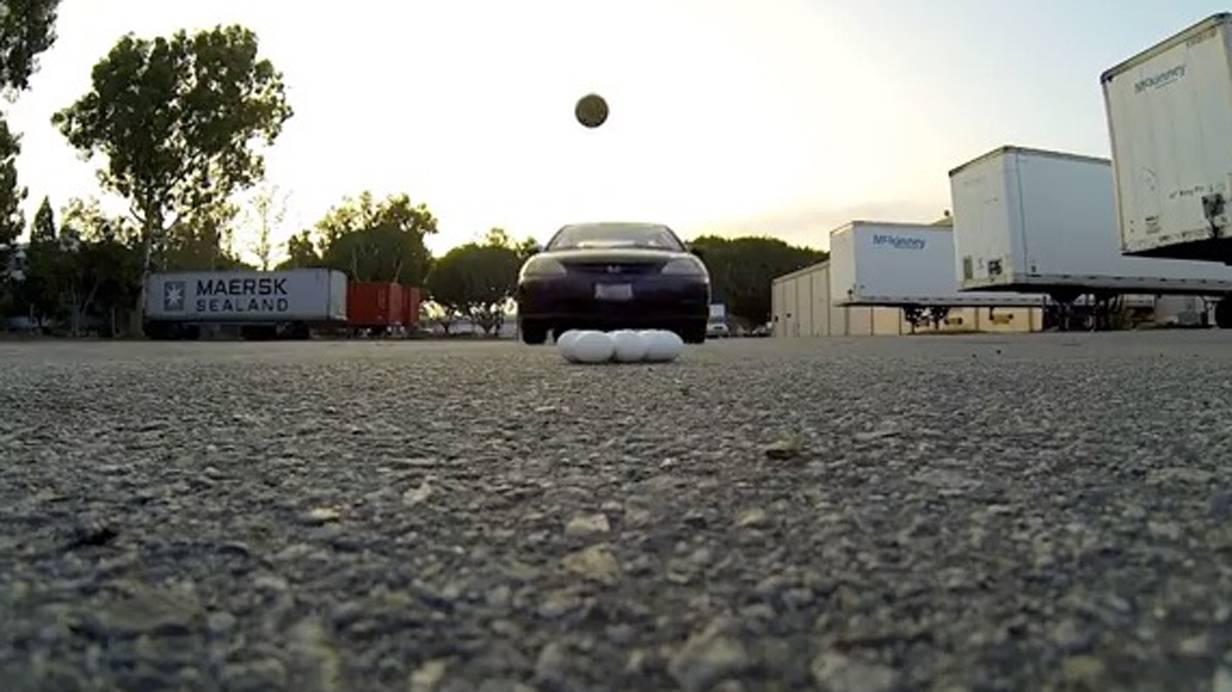 Scheiebdach BAsketball Trickshot David KAlb Kalifornien