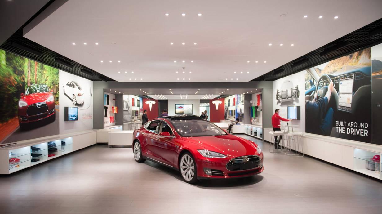 Tesla Store Peking