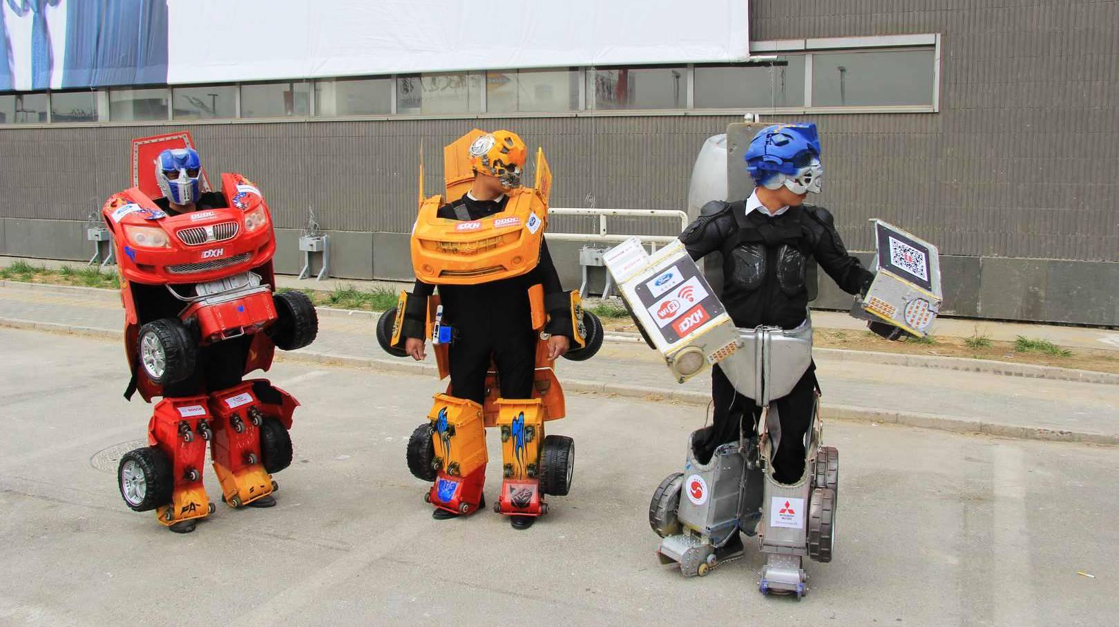 Transformers Peking auto show