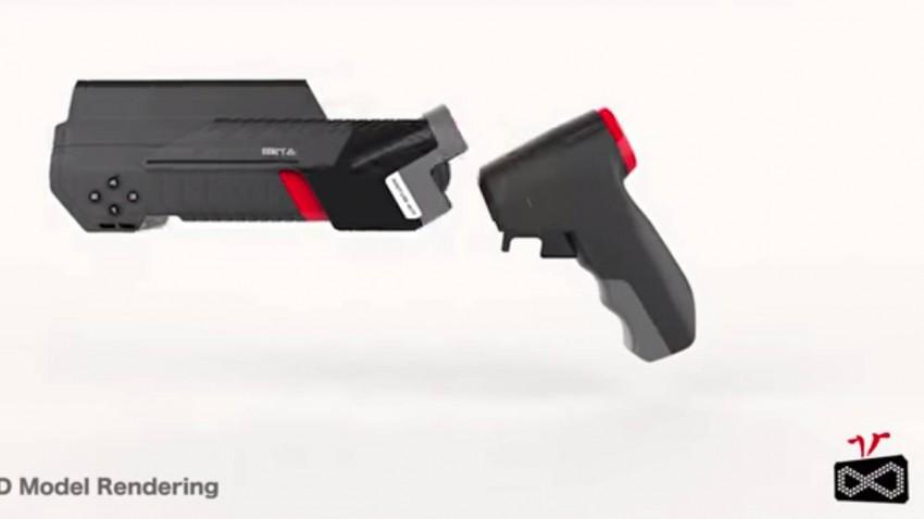 Der ANTVR-Controller ist vielfältig einsetzbar - zum Beispiel als Gamepad, Joystick oder Pistole.