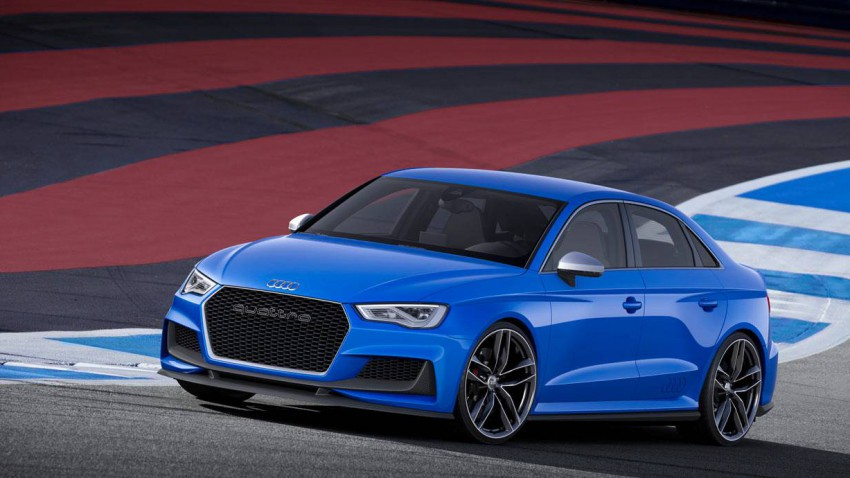 Vorstellung: Audi A3 Clubsport Quattro Concept