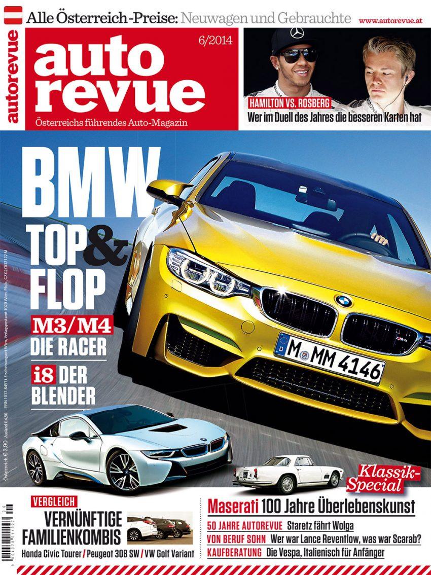 Autorevue Magazin-Archiv: Ausgabe 06/2014