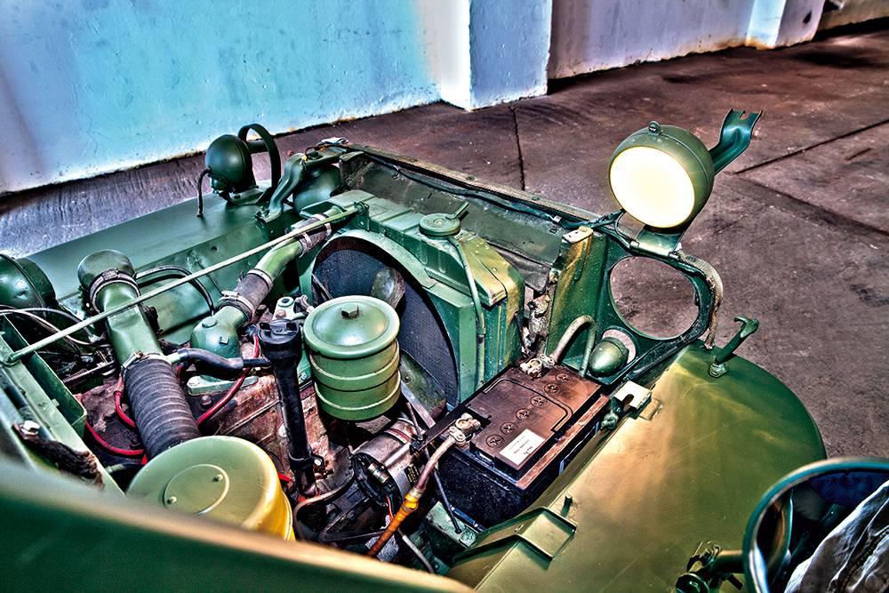 jeep willys 1943 motor motorraum