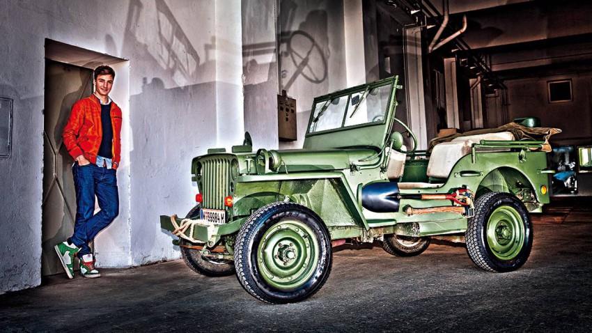 jeep willys 1943 vorne seite