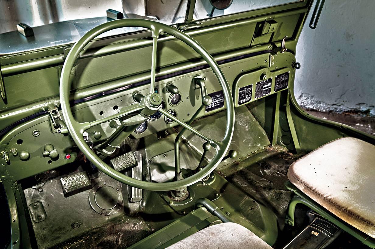 jeep willys 1943 lenkrad innen