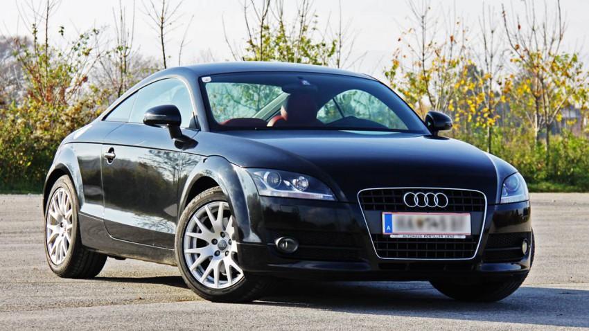 Audi TT Coupé 2,0 T FSI S-tronic vorne