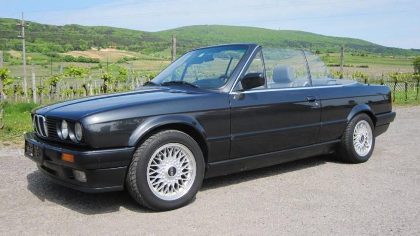 BMW 325i Cabrio E30