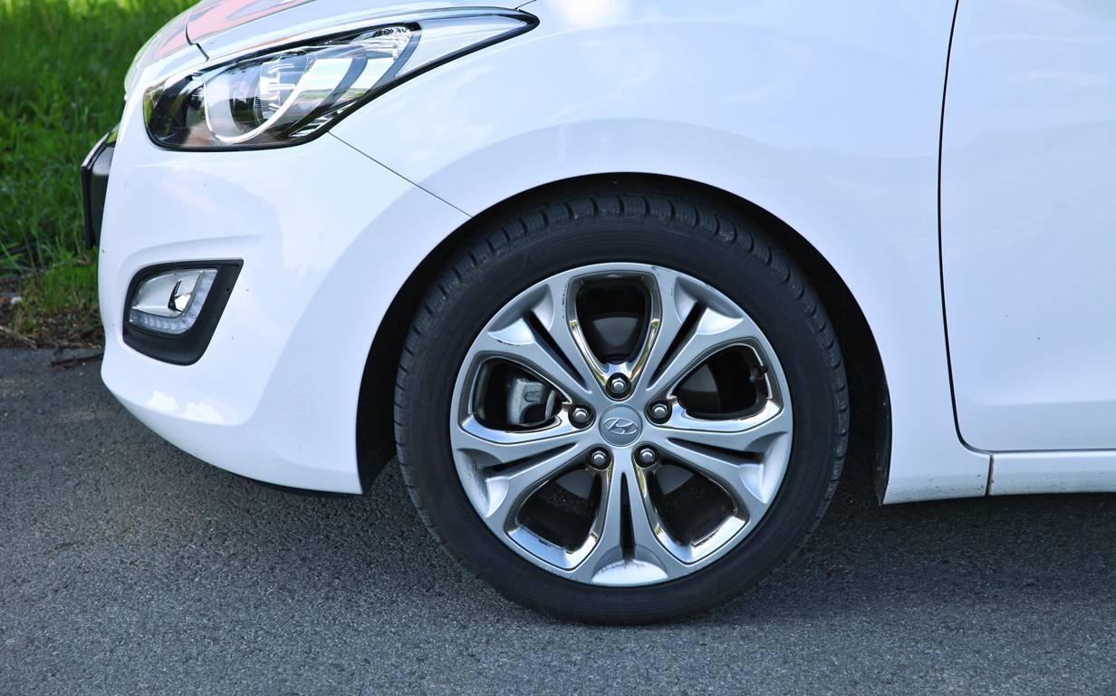 Hyundai i30 CW GO Plus! 1,6 CRDi felgen
