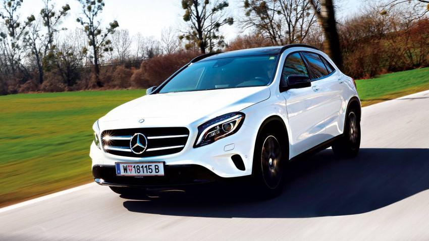 Mercedes-Benz GLA 220 CDI 4MATIC 2014 vorne front seite