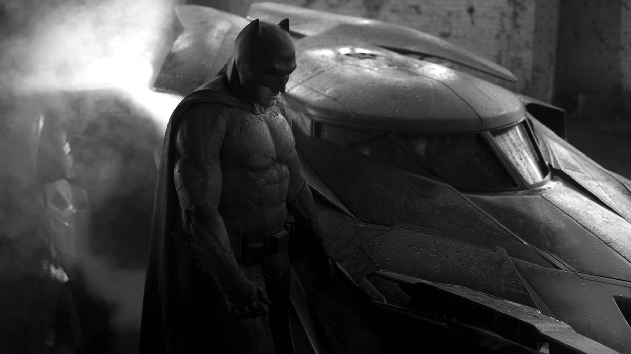 Batman vs. Superman Ben Aflleck Batmobil
