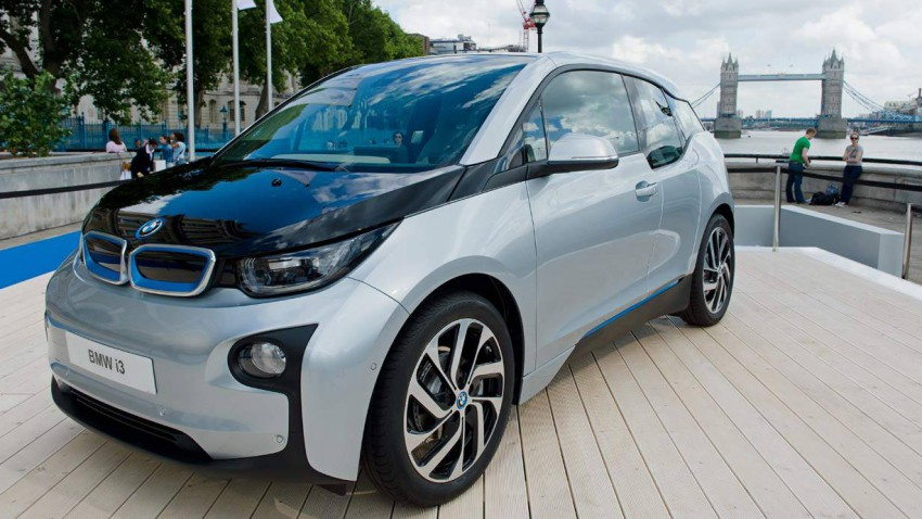 Der BMW i3 in London
