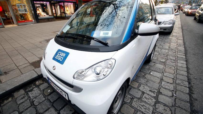 Car-Sharing in England nicht beliebt
