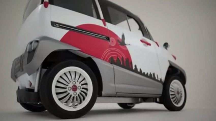 Fomm Concept One: Kapsel-Auto für Wasserwelten