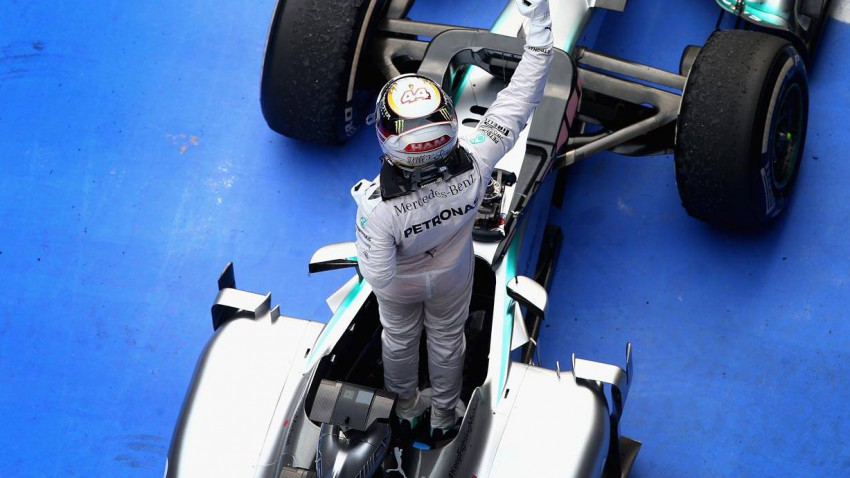 Formel 1 Lewis Hamilton nach GP China