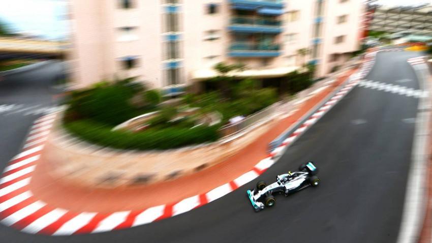 Rosberg in Monaco