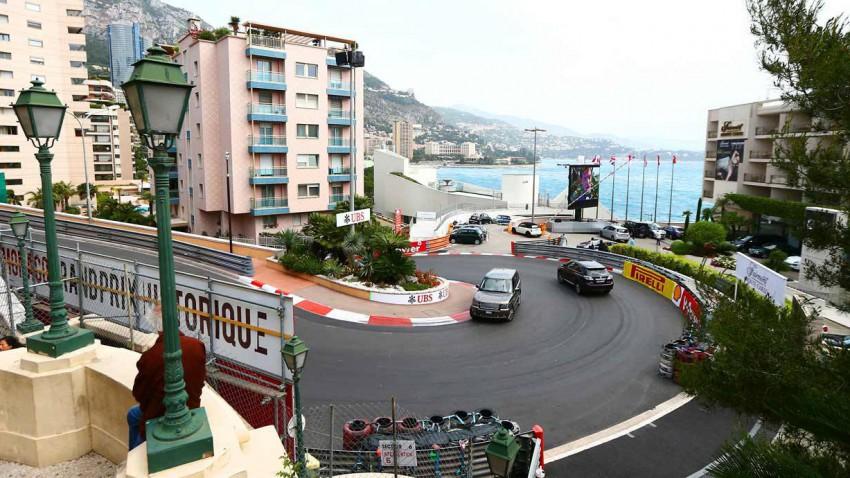 Formel 1 Strecke Monaco