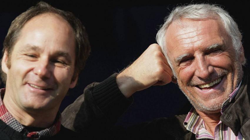 Gerhard Berger mit Dietrich Mateschitz