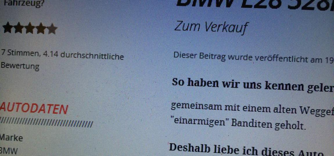 Autoverkauf: Vorlagen für Gebrauchtwagen Anzeigen : autorevue.at