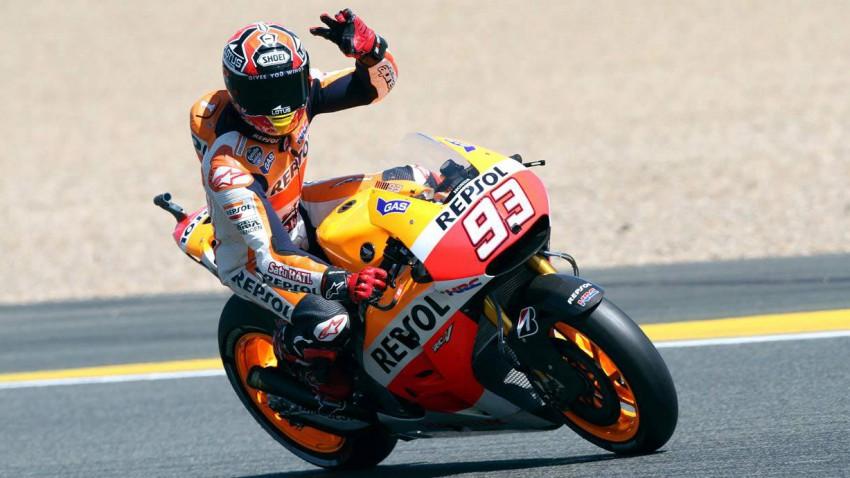Marc Marquez Le Mans 2013