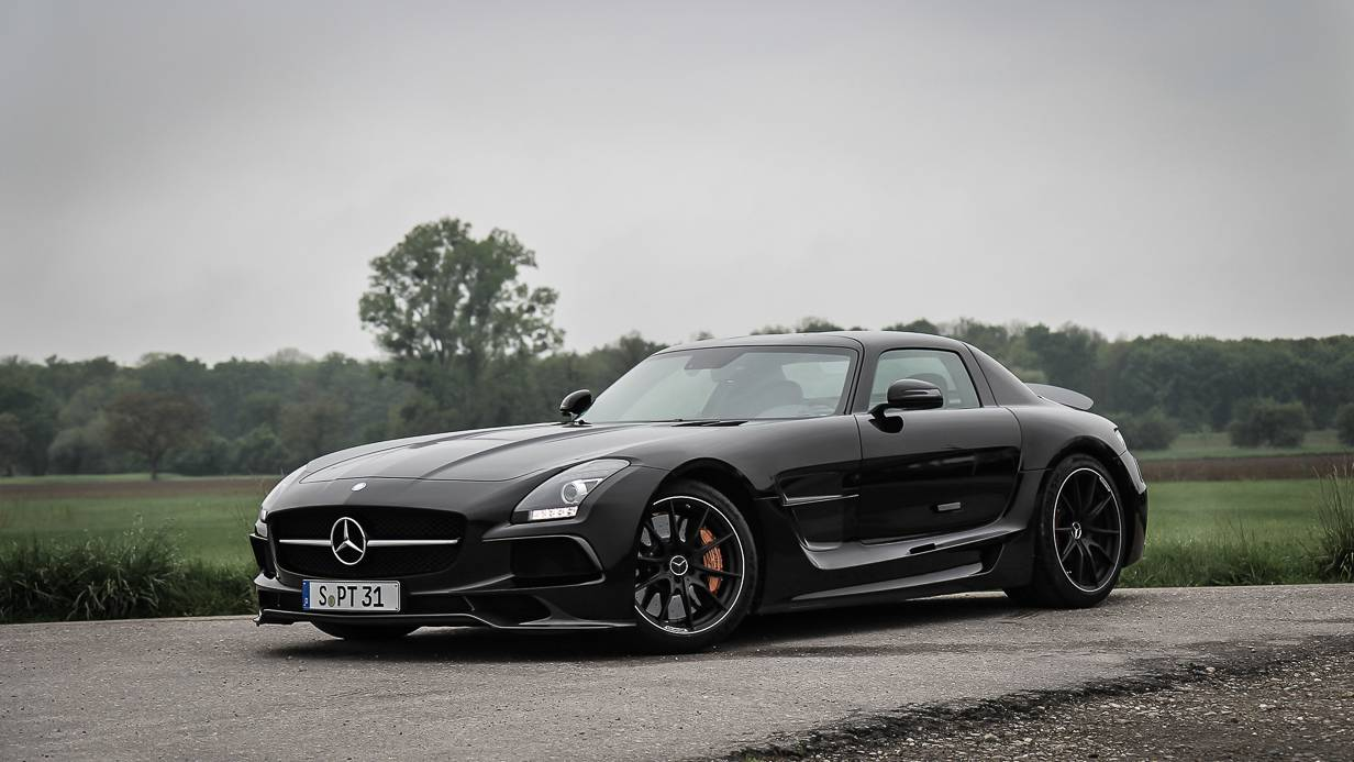 Mercedes-Benz SLS AMG Coupé Black Series Front Aerokit