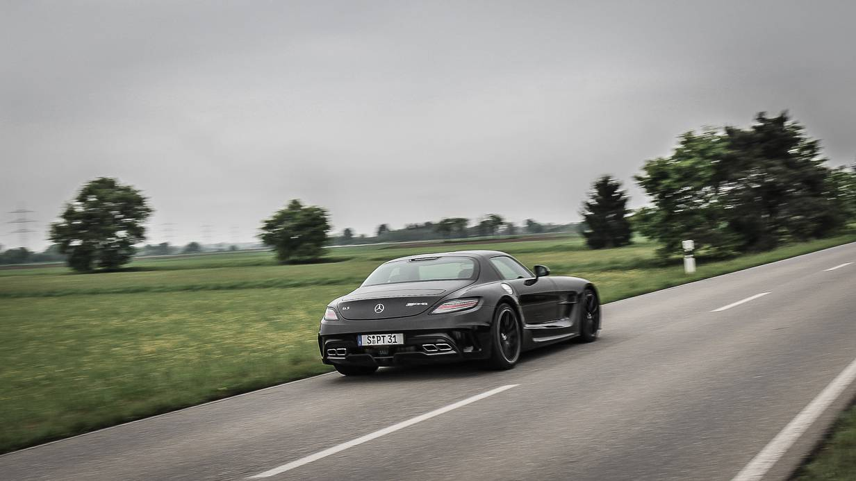 Mercedes-Benz SLS AMG Coupé Black Series Heck