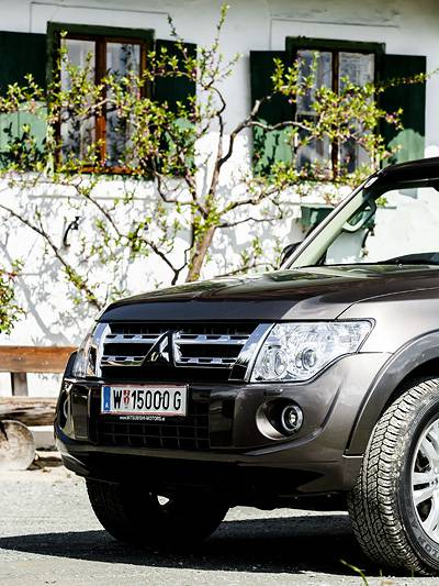 Mitsubishi Pajero Edition 35 Fahrbericht