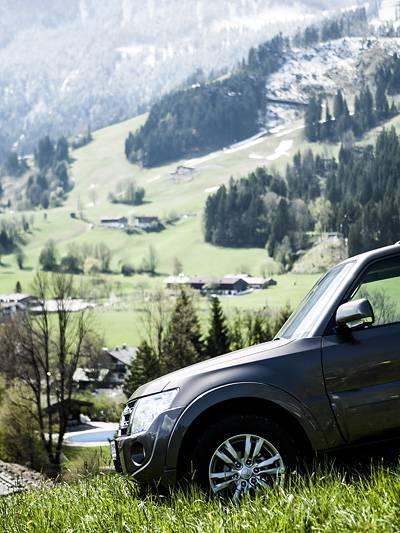 Mitsubishi Pajero Edition 35 Offroad Ausflug Christian Karlberger Tirol