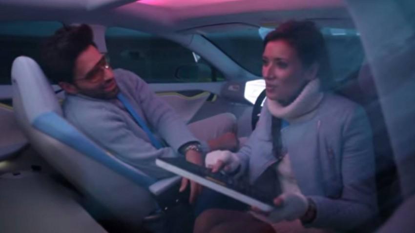 Langeweile im selbstfahrenden Auto?
