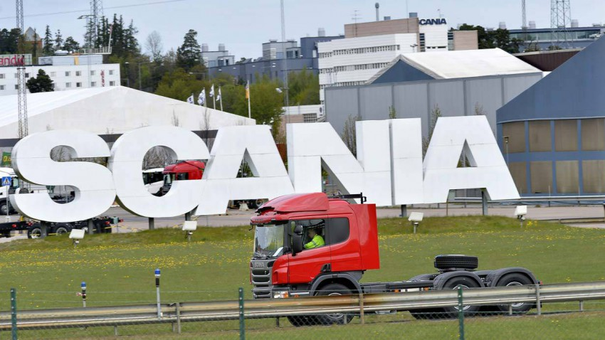 Scania Werk Sodertalje
