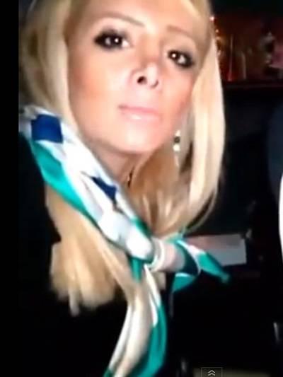 Video Selfie am Steuer Autofahrerin Iran Frauen Unfallvideo Unfall