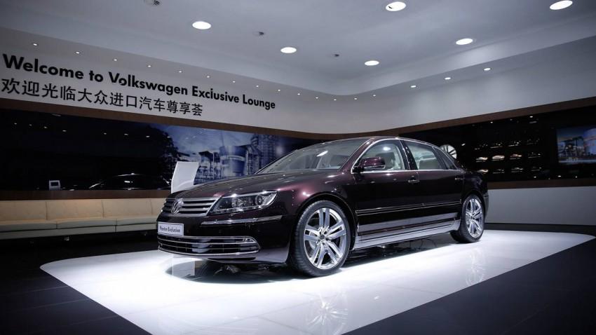Volkswagen auf der Peking Autoshow 2014