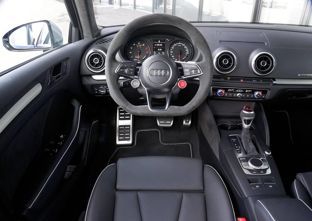 audi rs3 clubsport quattro concept cockpit innenraum innen armaturen