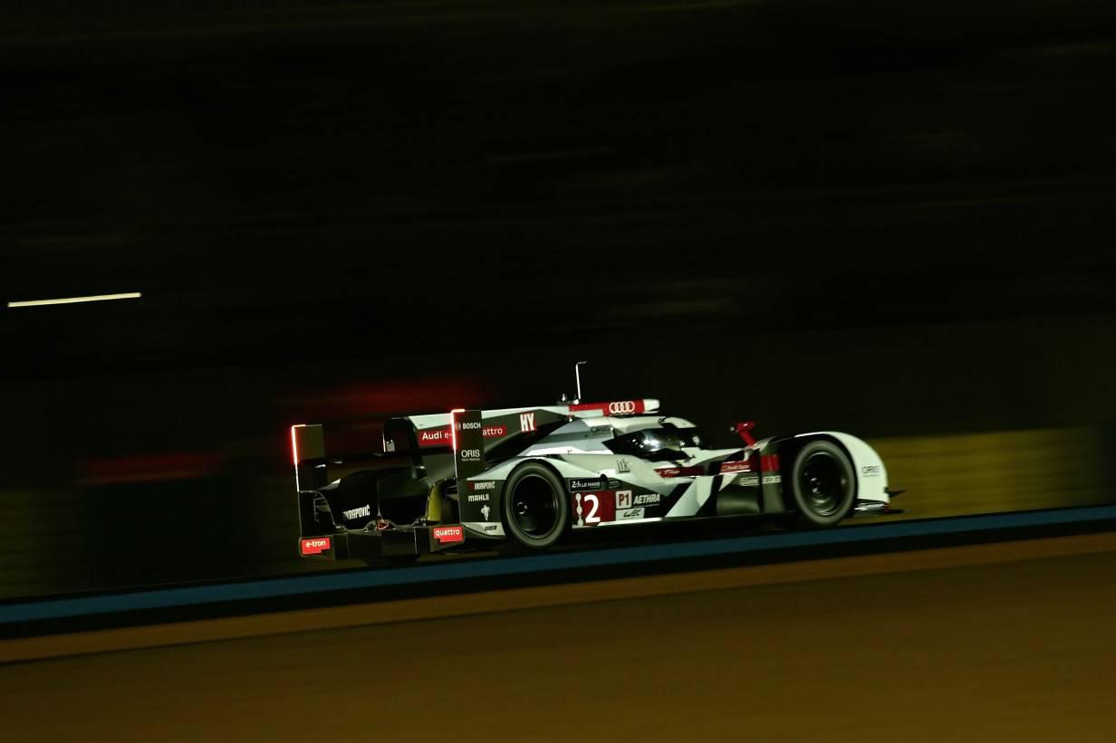 Audi R18 e-tron quattro Le Mans Training