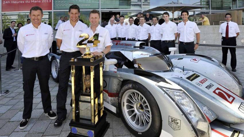 Audi R18 e-tron Le Mans 2013 Sieger TDI Hybrid McNish Kristensen Duval