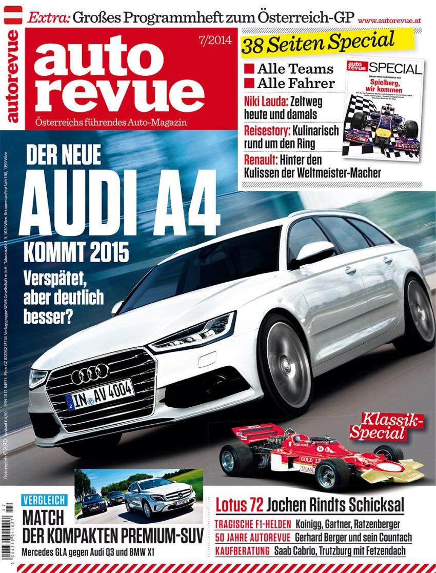 Autorevue Magazin-Archiv: Ausgabe 07/2014