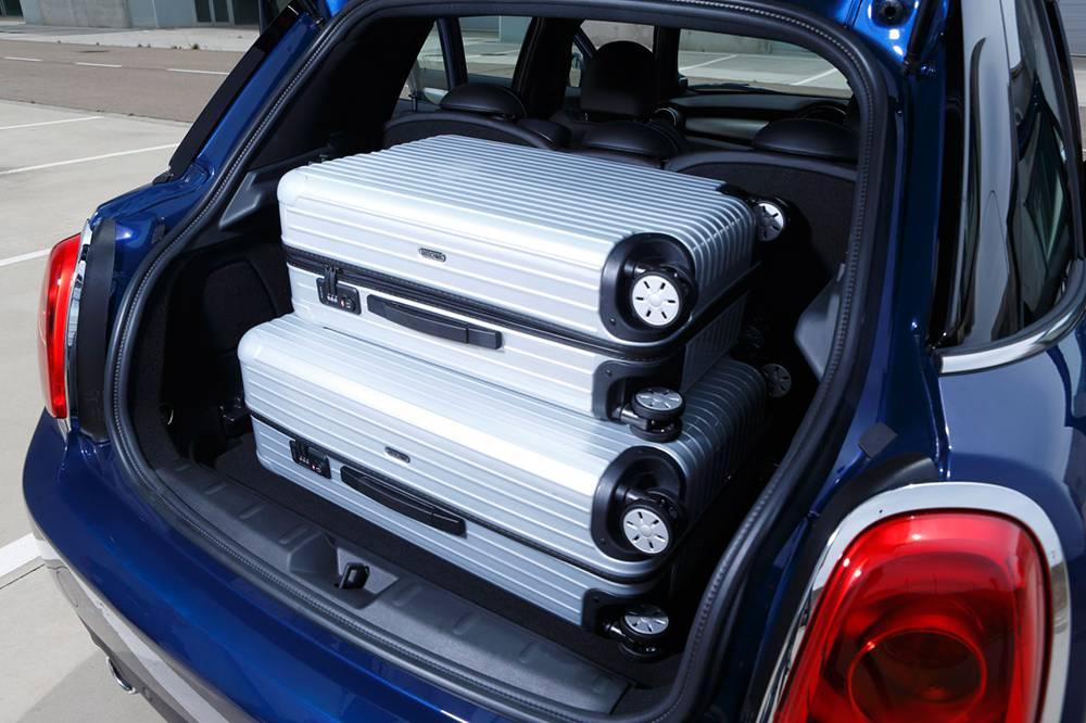 mini fünftürer 5-door 2014 kofferraum laderaum