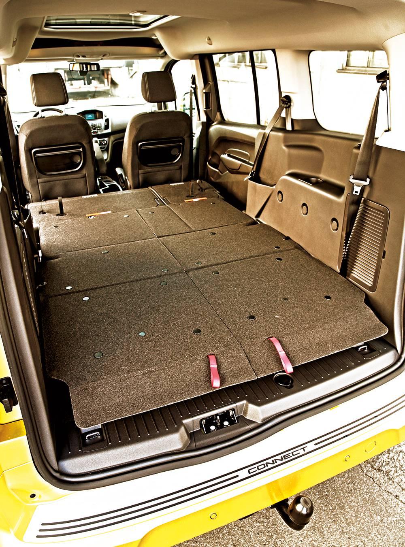 Ford Grand Tourneo Connect 1,6 Titanium 2014 ladefläche ladeboden
